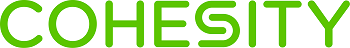 Cohesity logo green