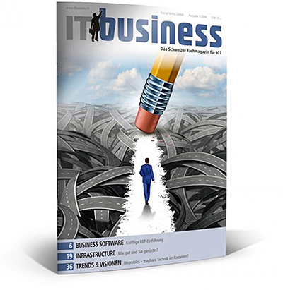zeitschrift it business januar 2014